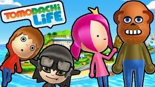 Tomodachi Life 3DS Freddy Moves In, Mario Matchmaker, Hypnotizer Gameplay Walkthrough PART 27