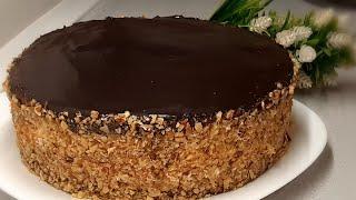 Первым делом приготовлю этот торт на НОВЫЙ ГОД Торт с ангельским вкусом АЛЯ ПТИЧЬЕ МОЛОКО