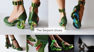 Serpent Shoes by Nomili