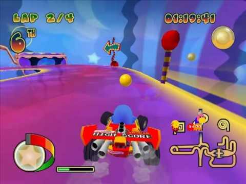Pac-Man Rally (Funhouse Of Terror)