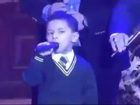 Army Officer's Son Singing