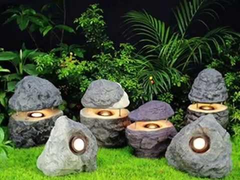 Такие необычные эти садовые светильники для дачи. Украсьте ими дачу