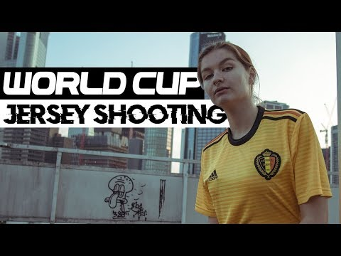 World Cup 2018 jersey Fotoshooting