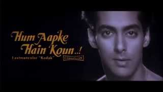 Hum Aapke Hain Koun   Title Song   Salman Khan & Madhuri Dixit   Old Hindi Songs