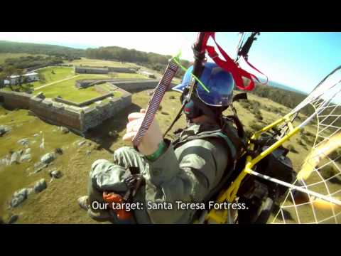 AWESOME Paramotor Adventure  Uruguay