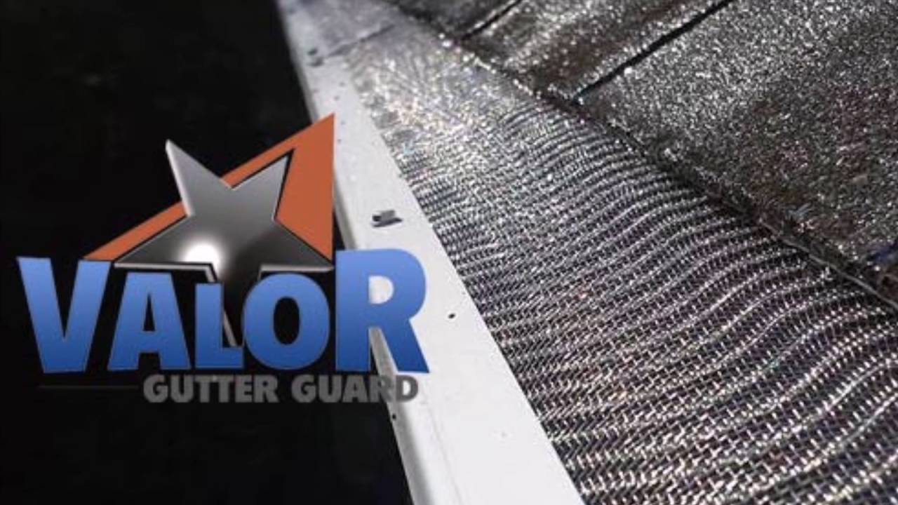 Valor Gutter Guards Rated 1 Youtube
