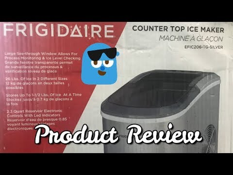 Frigidaire Counter Top Ice Maker Product Review