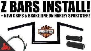 HOW TO: Install Z Bars on Harley-Davidson Sportster