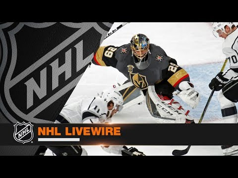 NHL LiveWire: Golden Knights top Kings in Game 1