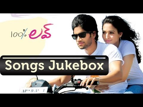 100% Love Telugu Movie Songs Jukebox  Naga Chaitanya, Tamanna  Telugu Love Songs