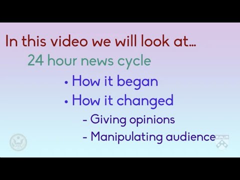 The 24-Hour News Cycle