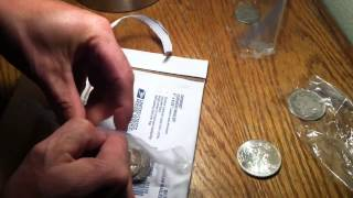 American silver eagle package opening