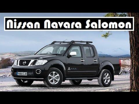 Nissan Navara Salomon mountain sports brand, a limited edition model