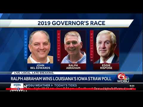 Ralph Abraham Chosen As Republican Frontrunner At Louisiana