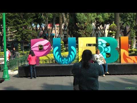 Mexico, Puebla visit town and Iglesia de Santo Domingo-Maya trip ep.49-Travel vlog calatorii tourism