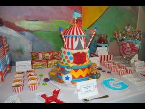 How to throw a Circus Birthday Party YouTube