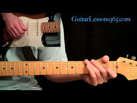 Rock This Town Guitar Lesson Pt.2 - Stray Cats - Chorus & Outro
