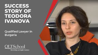 Success Story of Teodora Ivanova - QLTS School