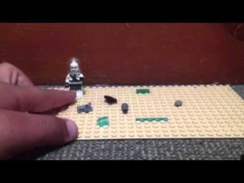 Lego batman vs mr freeze set how to make mr freeze gun - YouTube