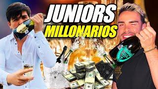 ASI FESTEJAN LOS JUNIORS MILLONARIOS DE MEXICO 🤑🍾