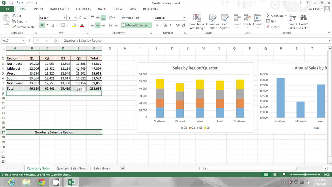 How to Change the Cursor in Microsoft Excel : Microsoft Office Tips
