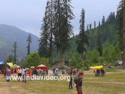 Solang Valley at Manali, Himachal Pradesh