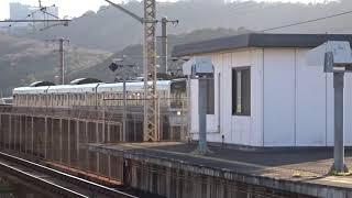 JR四国6000系 児島駅入線