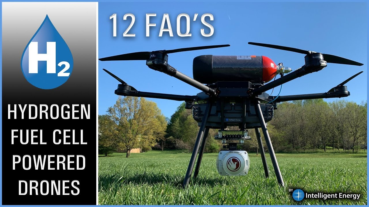 This Drone Will Fly For One Hour Using A Hydrogen Fuel Cell: Here's How! 12  FAQ's