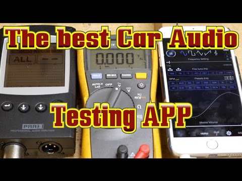 The Best App For Car Audio Testing On An IPhone