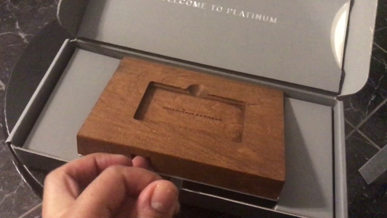 Amex Platinum Unboxing 2017 Youtube
