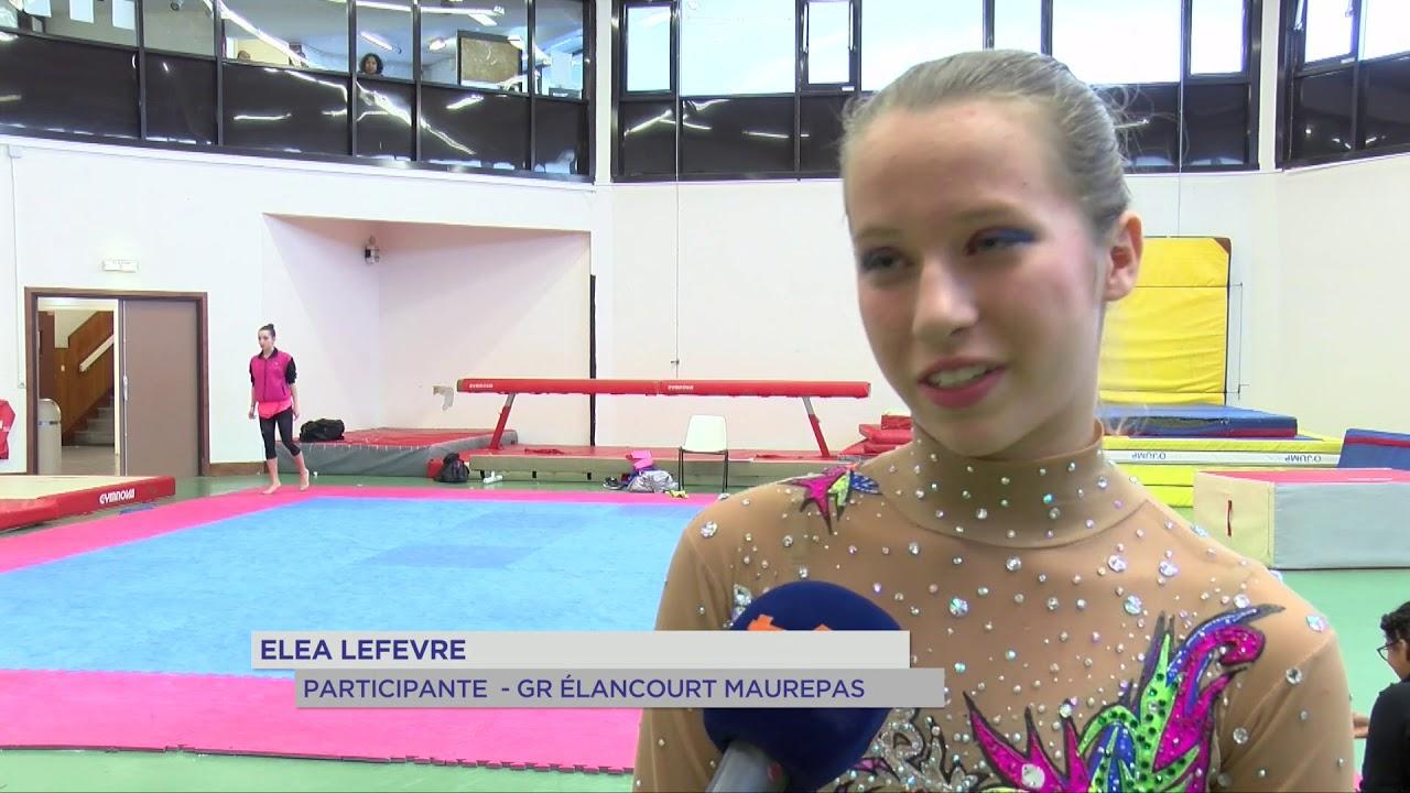 Gymnastique : Une compétition de GR à Elancourt