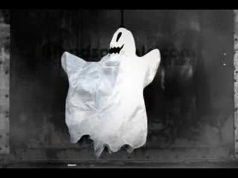 Halloween Prop - Scary Flying Ghost - YouTube