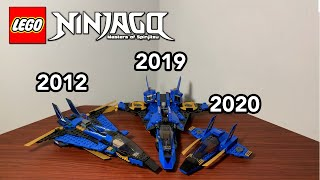 Which Jay's Storm Fighter is the Best? Original, Legacy, and 4+ Comparison! 2012 vs. 2019 vs. 2020