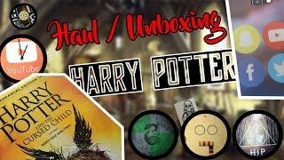 HAUL / UNBOXING HARRY POTTER l HD HPTS l Tatouages, Coque, Magnets, Livre, YourSurpise...