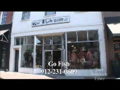 Go fish savannah ga unique gift shop youtube for Go fish georgia