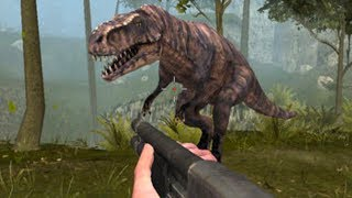 Primal Dinosaur Hunter Simulator HD Gameplay - Hunting T-Rex, Spinosaurus, Carnosaurus Dinosaur