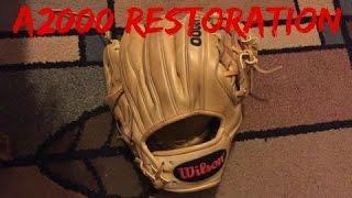 Wilson a2000 1786 Glove Restoration