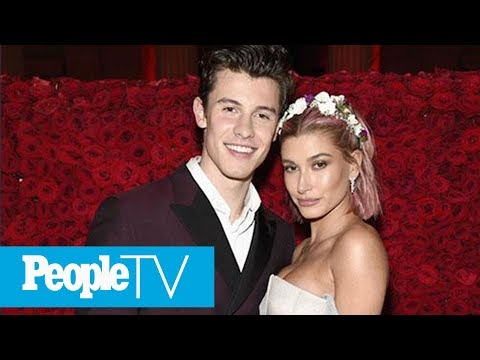 Shawn Mendes Calls Hailey Baldwin 'Friend': 'We Weren't Making Our Big Debut' At Met Gala | PeopleTV