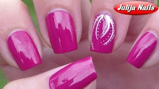 ▶ Простой дизайн ногтей для начинающих