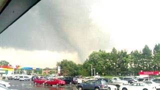 Tornado In Springfield, MA June 1, 2011