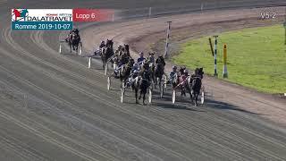 Vidéo de la course PMU PRIX SVENSK TRAVSPORTS KALLBLODSSERIE - FORDEL STON