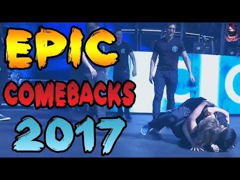 EPIC Dota 2 PRO Comebacks of 2017 by Time 2 Dota #dota2