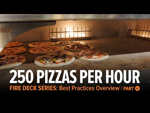 Rotation Strategy   Up To 250 Pizzas Per Hour | Fire Deck Series Ovens Part 6