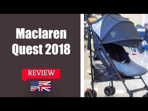 Maclaren Quest 2018 - Stroller FULL Review