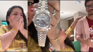 LIVE🔴 : Bharti Singh Flaunts EXPENSIVE SURPRISE GIFT By Husband On Her Birthday