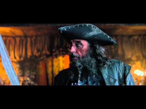 Blackbeard Clip - Pirates of the Caribbean: On Stranger Tides