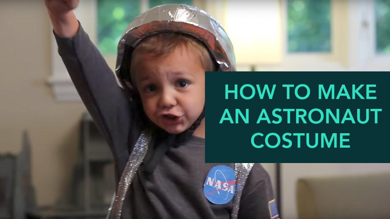 Easy DIY Halloween Costumes: Astronaut Costume - YouTube