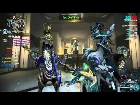 Warframe T4 Survival - World Record - 5hr 22min 41sec
