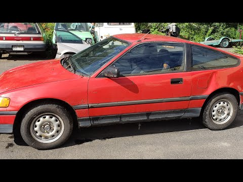 What to do with a nice old Honda CRX?
