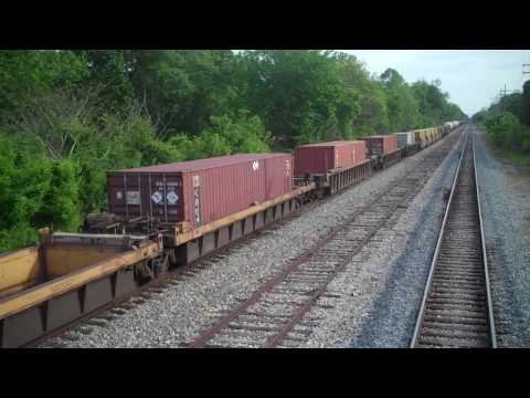 Freight Train in Mississippi